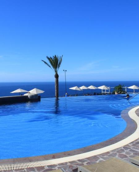 Stunning view from Sky Pool - Luxury Oceanview Studio + Kitchenette - Cabo San Lucas - rentals