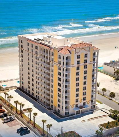 Ariel View of the Opus Building - Daytona Beach Direct Oceanfront 3 Bdrm 3 Bath Condo*FEB/MARCH SPECIAL* - Daytona Beach - rentals