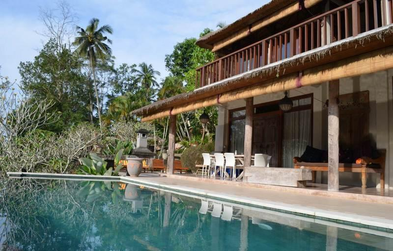 Villa and infinity pool - Peaceful & tranquil 3 or 4-bedroom villa in Ubud - Ubud - rentals