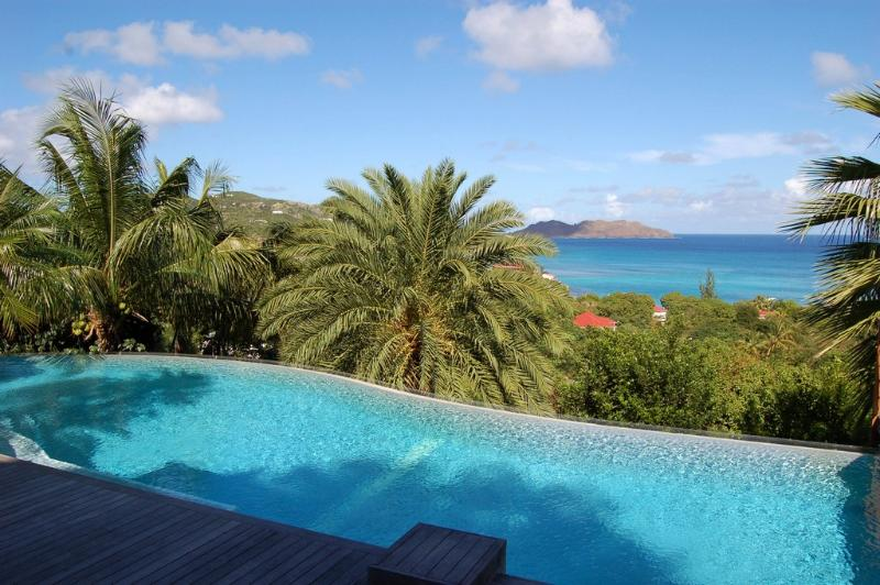 La Desirade at Saint Jean, St. Barth - Walk To Beach, View Of Saint Jean Bay - Image 1 - Lorient - rentals