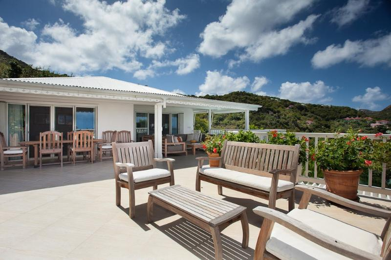 Luz at Lorient, St. Barth - Beautiful Ocean And Sunset Views, Long Lap Pool - Image 1 - Lorient - rentals