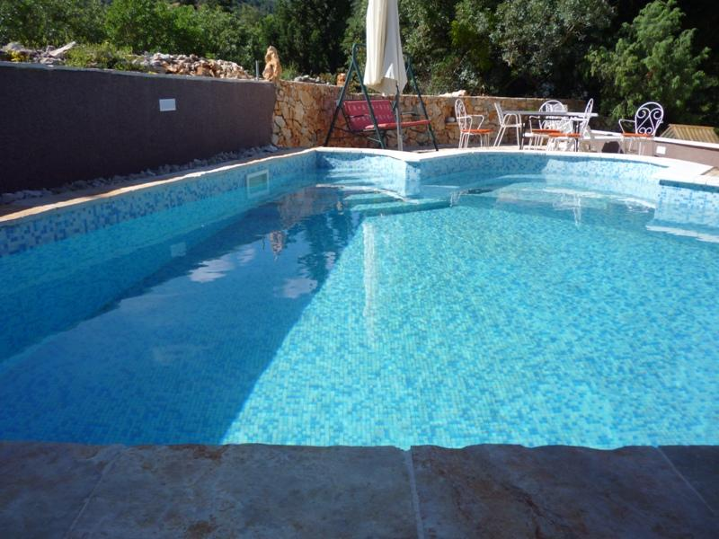 swimming pool - 1 bedroom apartment with swimming pool on Hvar - Stari Grad - rentals