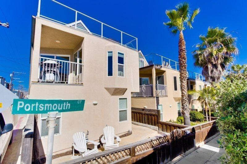 Nautical Beach House - Mission Beach Vacation Home - Image 1 - Pacific Beach - rentals