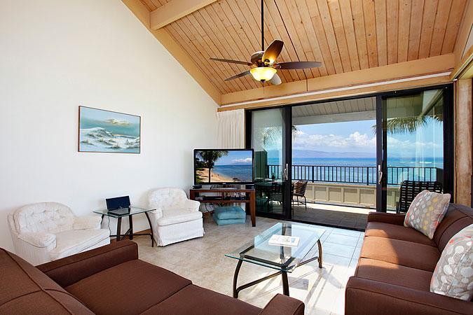 Ocean Front Prime 2 Bedroom Standard Condo Unit 23 - Image 1 - Lahaina - rentals