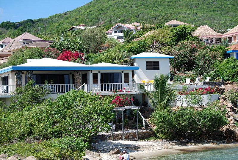 3 bedroom villa with private beach - Beach Front Private Villa 3/2 with Pool and Dock - Virgin Gorda - rentals