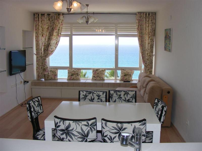 View from kitchen - Beautiful Beachfront Lux Apt. - Netanya - rentals