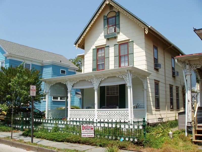 Here is the Daisy cottage in the sun!  We have since planted a garden - A Cape May Cottage for Rent - Charming! - Cape May - rentals