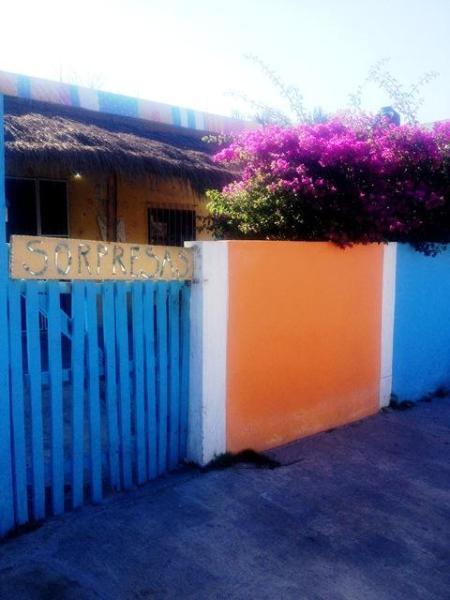 Street view of Casa Sorpresas! - Studio Apartment at Casa Sorpresas, Pto. Morelos - Puerto Morelos - rentals