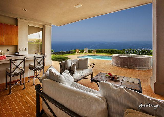 Outdoor area - Blue Hawaii  -  A Big Island Home Amazing Ocean Views in Kona - Kailua-Kona - rentals