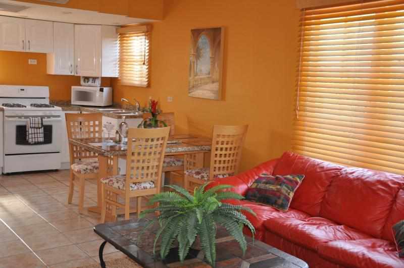 INSIDE VIEW - ABSOLUTELY THE BEST FOR LESS... IDEAL LOCATION - Palm/Eagle Beach - rentals