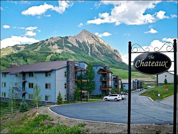 Picture Perfect Mountain Setting - Homey & Comfortable Vacation Condo - Rustic Decor Throughout (1256) - Crested Butte - rentals