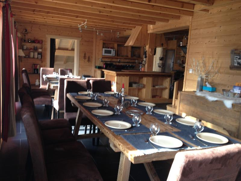 Chalet from 20 to 27 guest, 200 m ski slopes - Image 1 - Chatel - rentals