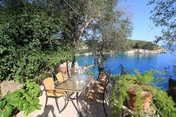 Views and Terrace at Aglaia Villa - Aglaia Villa (Loggos, Paxos) - Loggos - rentals