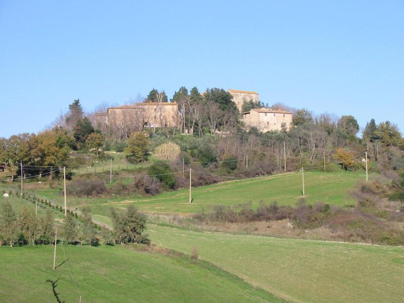 approaching to the Gello hill - Case Di Gello Vacation Rental in Tuscany - Montecatini Val di Cecina - rentals