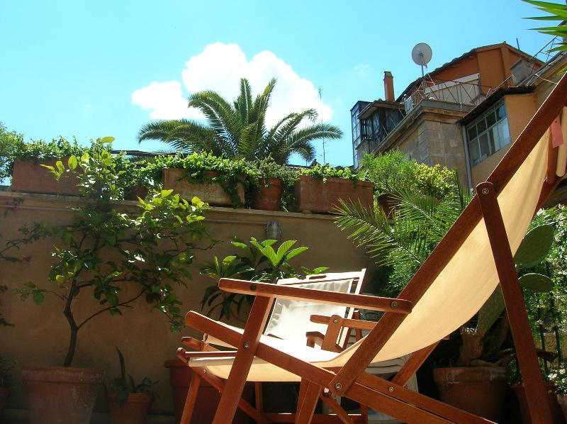 Terrace - Spanish Steps : 1-br apartment with own terrace. - Rome - rentals