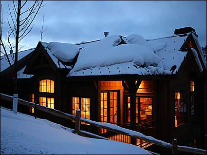 Exterior at night - Brand New Town House - Ski-in/Ski-out (9649) - Snowmass Village - rentals