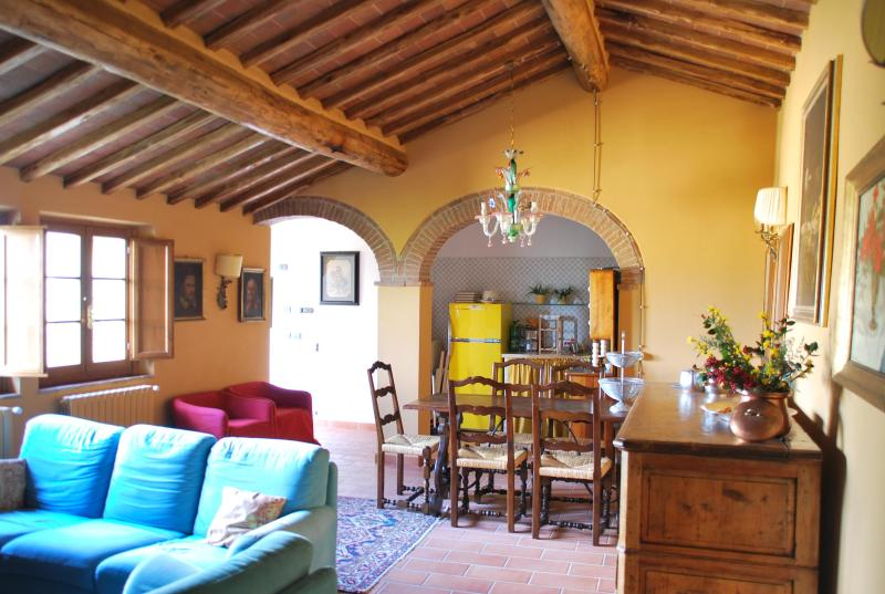 diningroom - Charming Ancient Stone House in Chianti Area - Siena - rentals