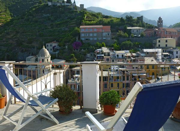 Terrazzo - GIULY SEA VIEW APARTMENT - Vernazza - rentals