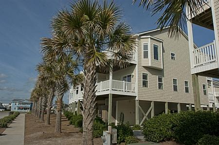 Sea Star 212 Exterior - Breeze In, 212 Sea Star Circle, SAVE UP TO $140 - Surf City - rentals