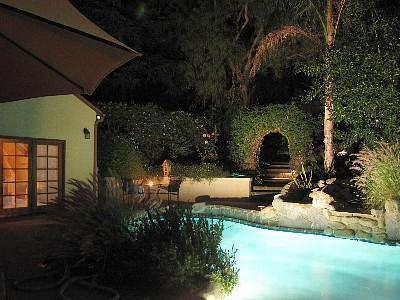 Swim under the stars - Beautiful Cottage w/pool & Jacuzzi - Malibu - rentals