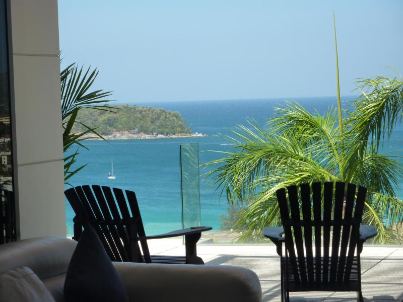 View From Living Room - Stunning Ocean View The Heights Kata Beach Phuket - Kata - rentals