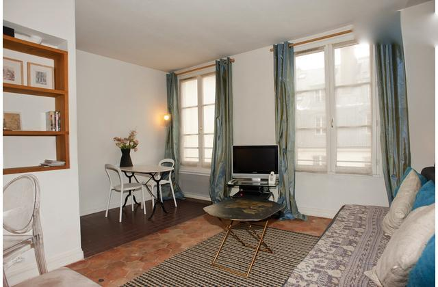 Living room - Unique location between OperaHouse & Louvre Museum - Paris - rentals