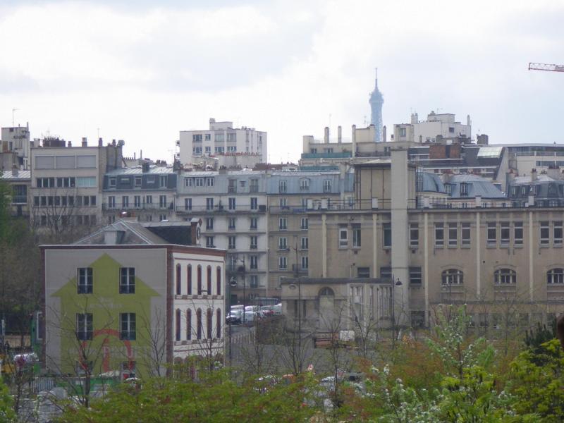 Daytime View from Balcony of Eiffel Tower - B Parisian! Elegant New Studio + Eiffel Tower View - Paris - rentals