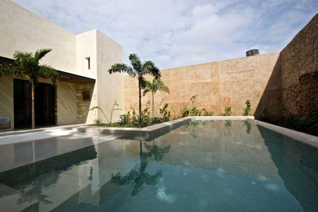 Pool at Maya Azul 3 - Mayazul 2 adjoining houses rent together or apart - Merida - rentals