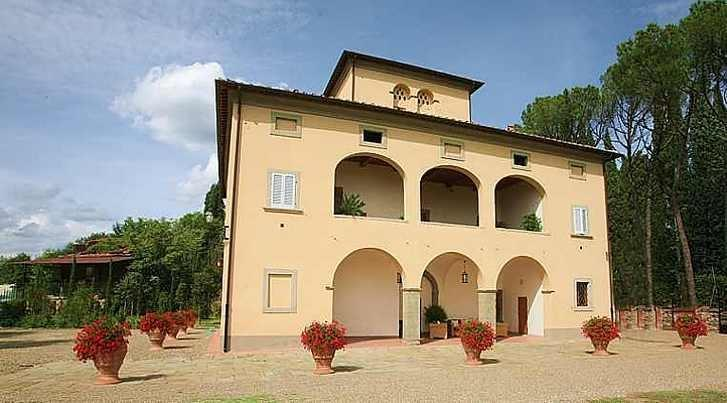 Magnificent villa in Tuscany wineyards - Image 1 - Lucignano - rentals