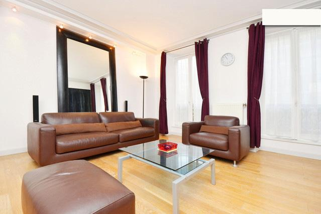 Living Room with sofa bed - 02. PRESTIGIOUS APARTMENT - LUXURIOUS & CENTRAL - Paris - rentals
