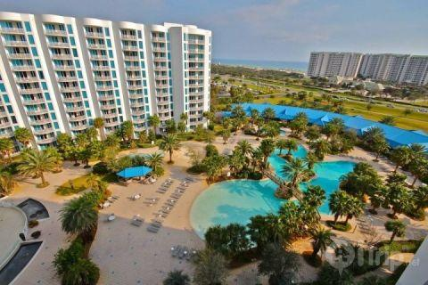 View From the Balcony - Palms of Destin #21009-2Br/2Ba  Book your summer fun with us! - Destin - rentals