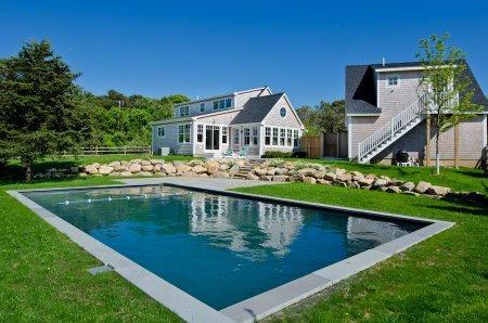 KATAMA BEACH HOUSE COMPOUND WITH POOL & CARRIAGE HOUSE - KAT RSWA-01 - Image 1 - Edgartown - rentals