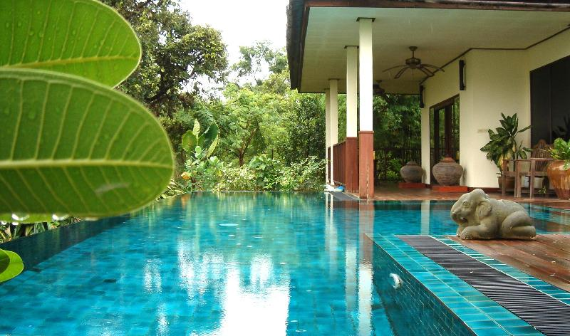 Your private pool - Gecko Villa: rural, full board, private pool villa - Prachaksinlapakhom - rentals