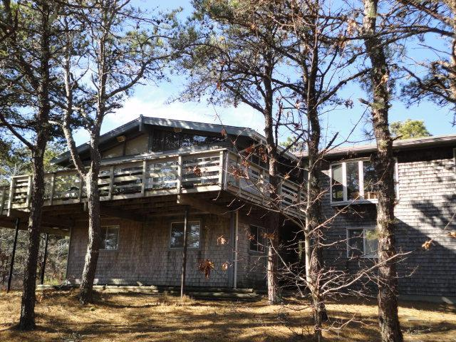 As you approach vacation home - Convenient to Town & Bay on backroads-Internet - Wellfleet - rentals