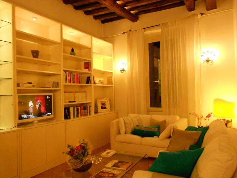 The living room - S.Rufina home. Elegant suite in the palace of '700 - Rome - rentals