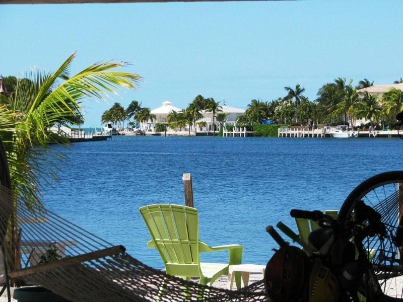View from Patio - Waterfront Keys Home - Spectacular View, 37' Dock - Marathon - rentals