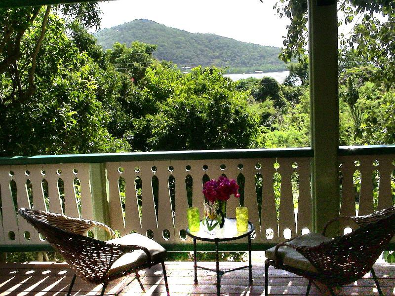 Covered Veranda - Cactus Flower Cottage- 1 Bedroom Peaceful Retreat - Saint John - rentals