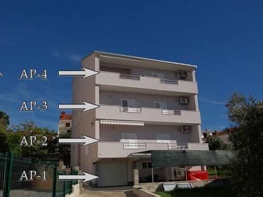 house - 6013 A2(4+2) - Okrug Gornji - Okrug Gornji - rentals