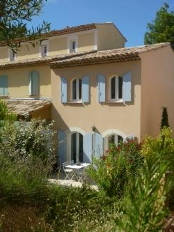 South Facing Terrace - Discover Provence. Mas Neuf  Luxury 2 Bed Villa - Pont Royal - rentals