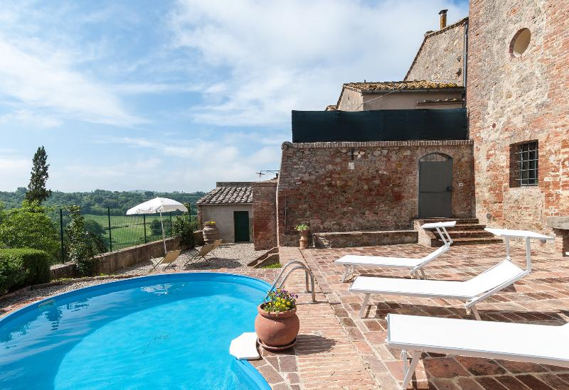 House and pool - 3BDR cosy house ,pool,WiFi,AC in Siena countryside - Siena - rentals