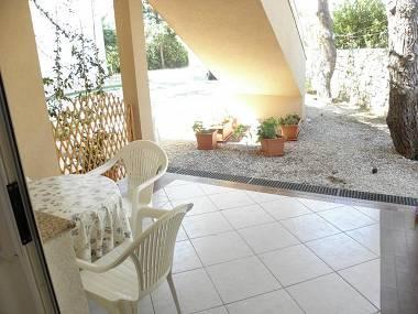 A3(2+2): terrace - 6028 A3(2+2) - Nin - Nin - rentals