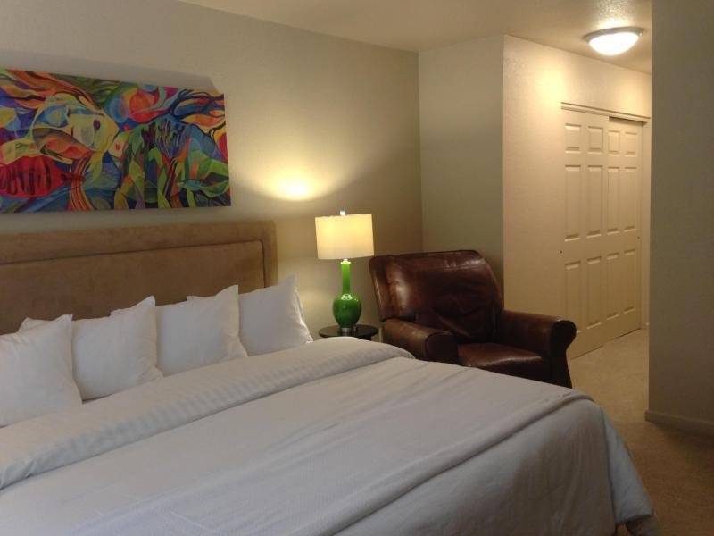 MasterSuite- king bed - 2Bd 2B Starr Pass Condo  Available June 7th, 2016 - Tucson - rentals