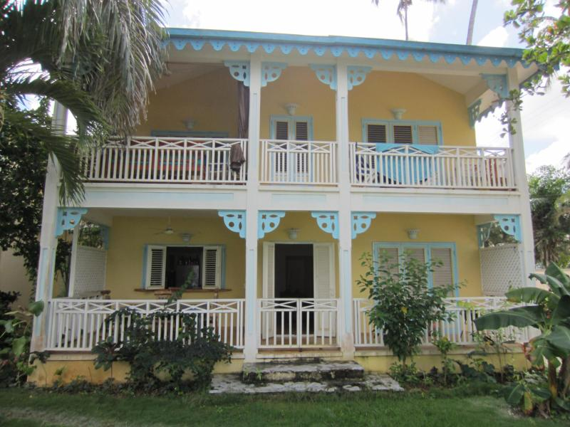 My little slice of paradise (I'm on the first floor) - 2BR On The BEACH In The Center Of Las Terrenas! - Las Terrenas - rentals