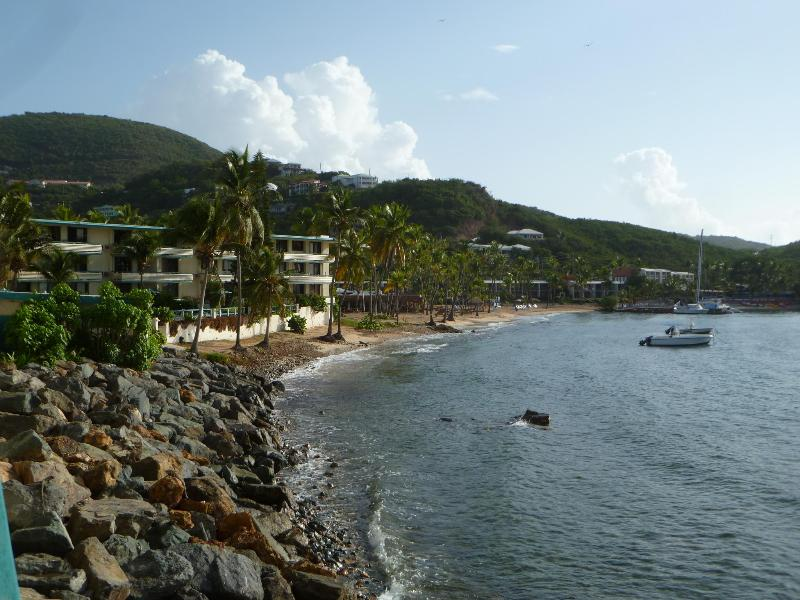 View from the balcony! - Bolongo Bay Waterfront Condo-Welcome to Paradise! - Saint Thomas - rentals