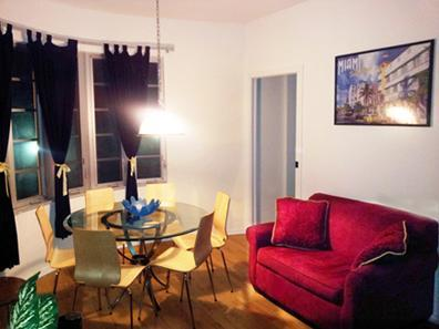 Living Room at Night! - Huge apt on Ocean drive- $495 /nt-sleep 6-8 - Miami Beach - rentals