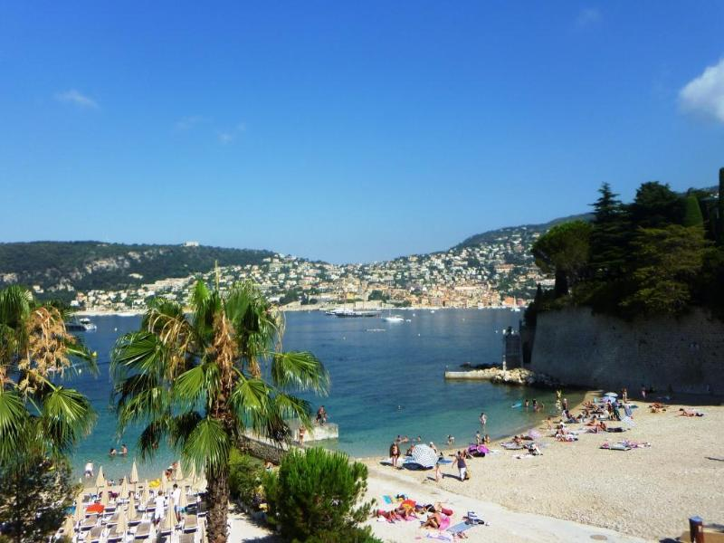 Right across from Passable sandy beach - New!Cap Ferrat by beach villa 4BD/4BA terrace view - Saint-Jean-Cap-Ferrat - rentals