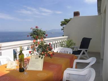 Antica(4+1): terrace - 00114PRIG Antica(4+1) - Prigradica - Prigradica - rentals