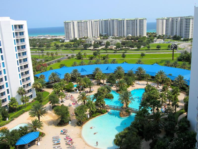 View from Penthouse Balcony - TWO LARGE MASTER SUITES The BEST VIEW at The Palms - Destin - rentals