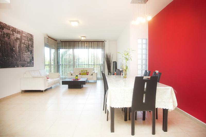 The Living room - Raanana Luxury - Premium 3BR sun balcony - REF14 - Ra'anana - rentals