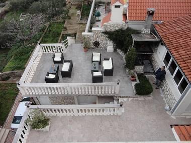 A(4+1): common terrace - 5988 A(4+1) - Okrug Donji - Okrug Donji - rentals